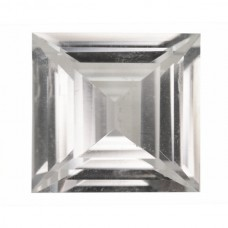 Square Synthetic White Spinel
