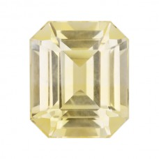 Octagon Genuine Yellow Sapphire Single Stone(s)