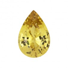 Pear Genuine Yellow Sapphire Single Stone(s)